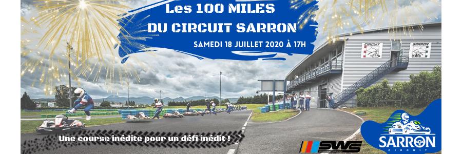 Course karting 100 miles | Sarron Circuit