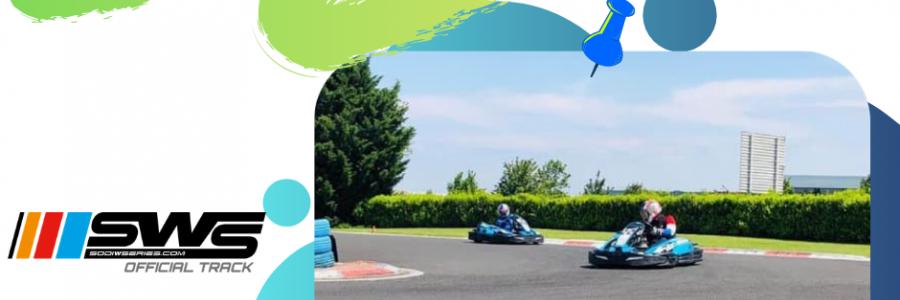 challenge, sprint, course, sport mécanique, karting, circuit sarron, sens inverse, piste | Sarron Circuit