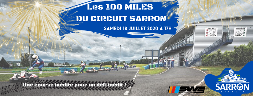 Course des 100 miles | Sarron Circuit